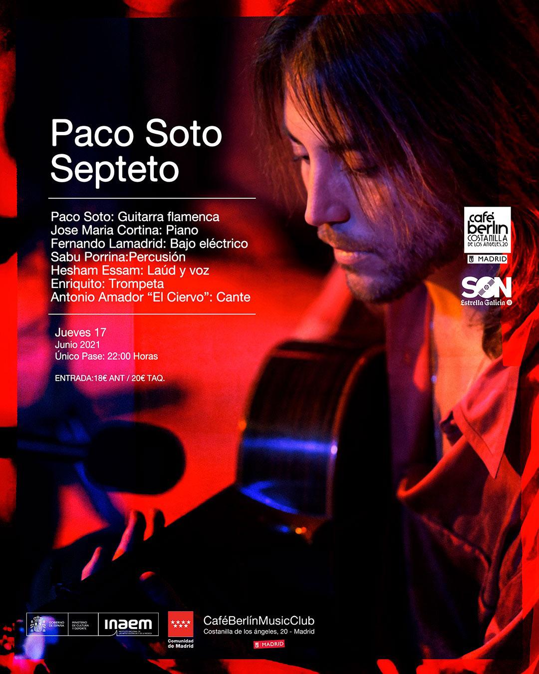 Paco Soto en Café Berlín