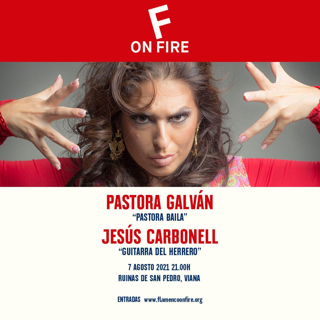 Pastora Galván - Flamenco on Fire