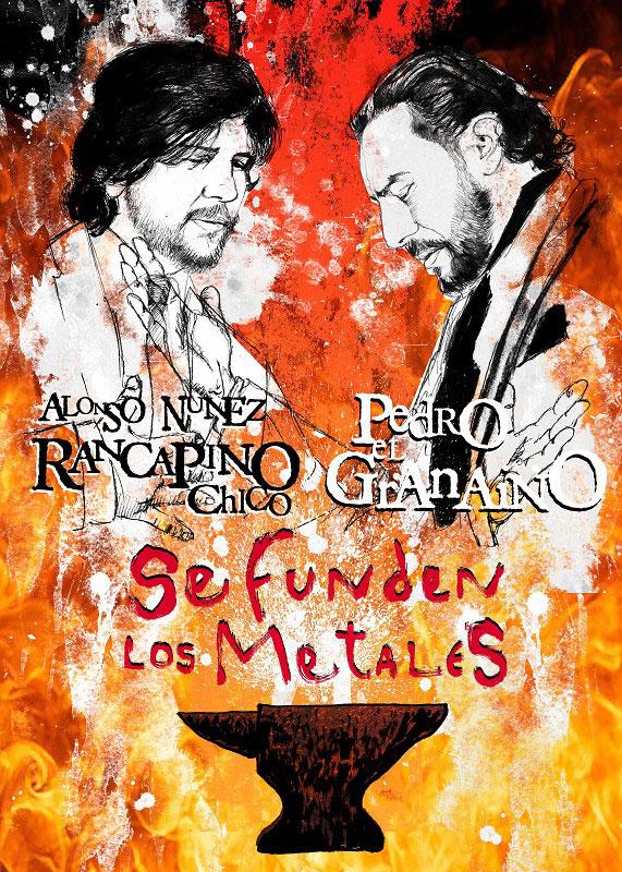 Se funden metales - Rancapino chico, Pedro El Granaíno