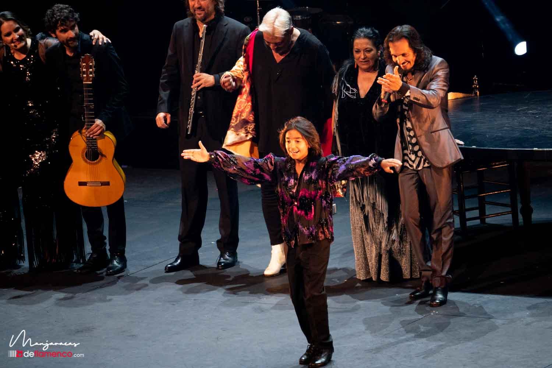 Farruquito en el Teatro Real, fotografías & fin de fiesta