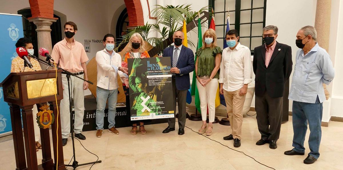 Algeciras en la II Bienal de Flamenco Cádiz, Jerez y los Puertos