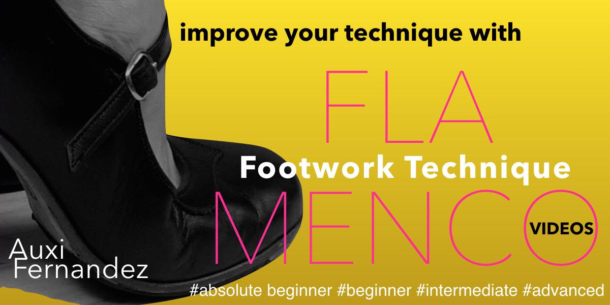 FLAMENCO FOOTWORK TECHNIQUE by  Auxi Fernández