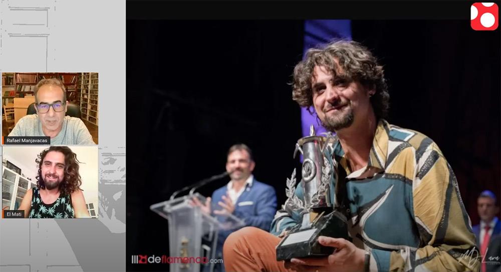 'El Mati' rinde homenaje a la minería y a los mineros en un videoclip que presentará en la 'Gala de Ganadores' del Festival del Cante de las Minas