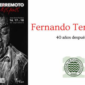 Jornadas Fernando Terremoto