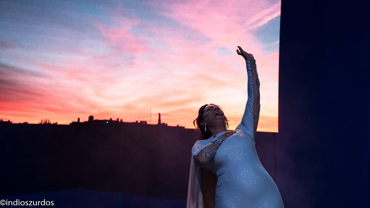 María Mezcle estrena 'Magenta y Cian' en la II Bienal de Flamenco de Cádiz