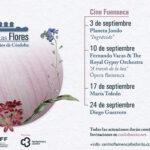 Flamenco entre las flores