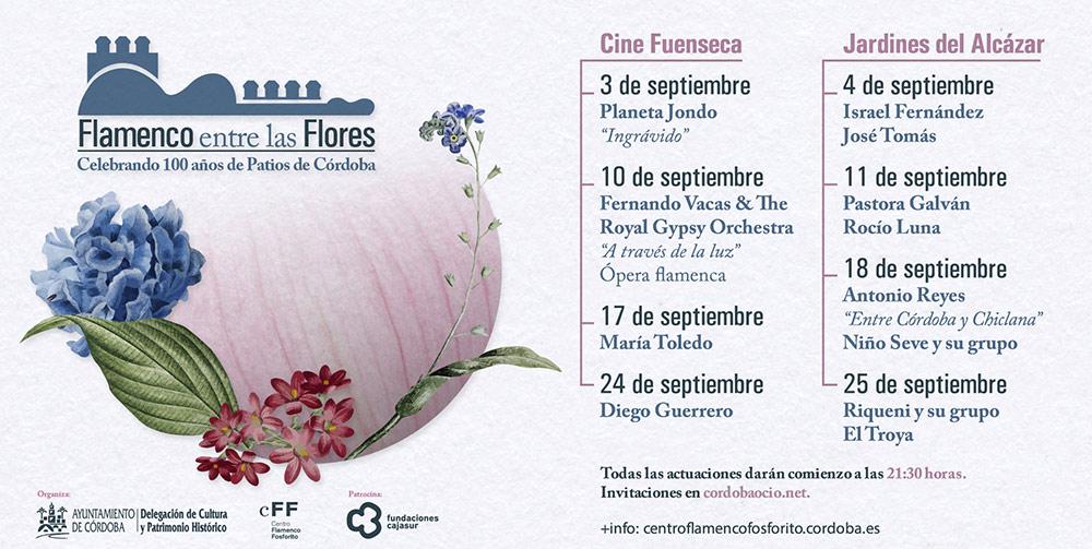 'Flamenco entre las Flores' en Córdoba