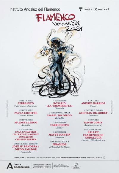 Flamenco Viene del Sur 2021 - Teatro Central Sevilla