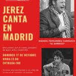 Jerez canta en Madrid