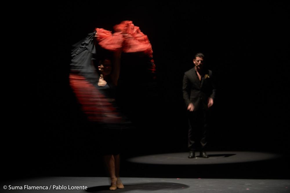 Yerai Cortés, Estela Alonso y El Purili en Suma Flamenca Joven