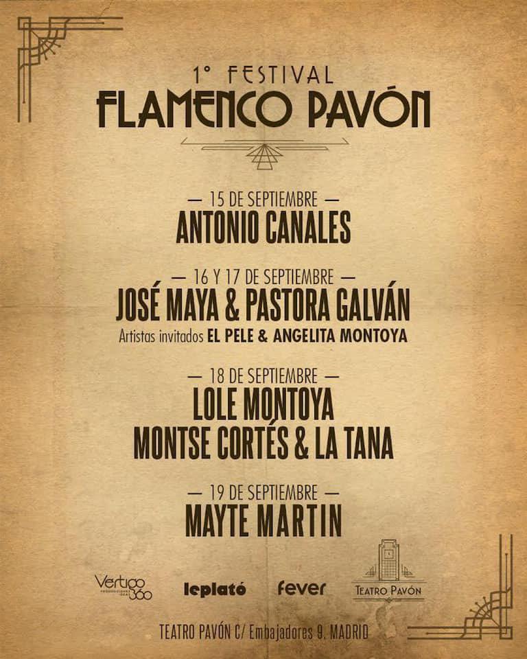 Festival Flamenco Pavón