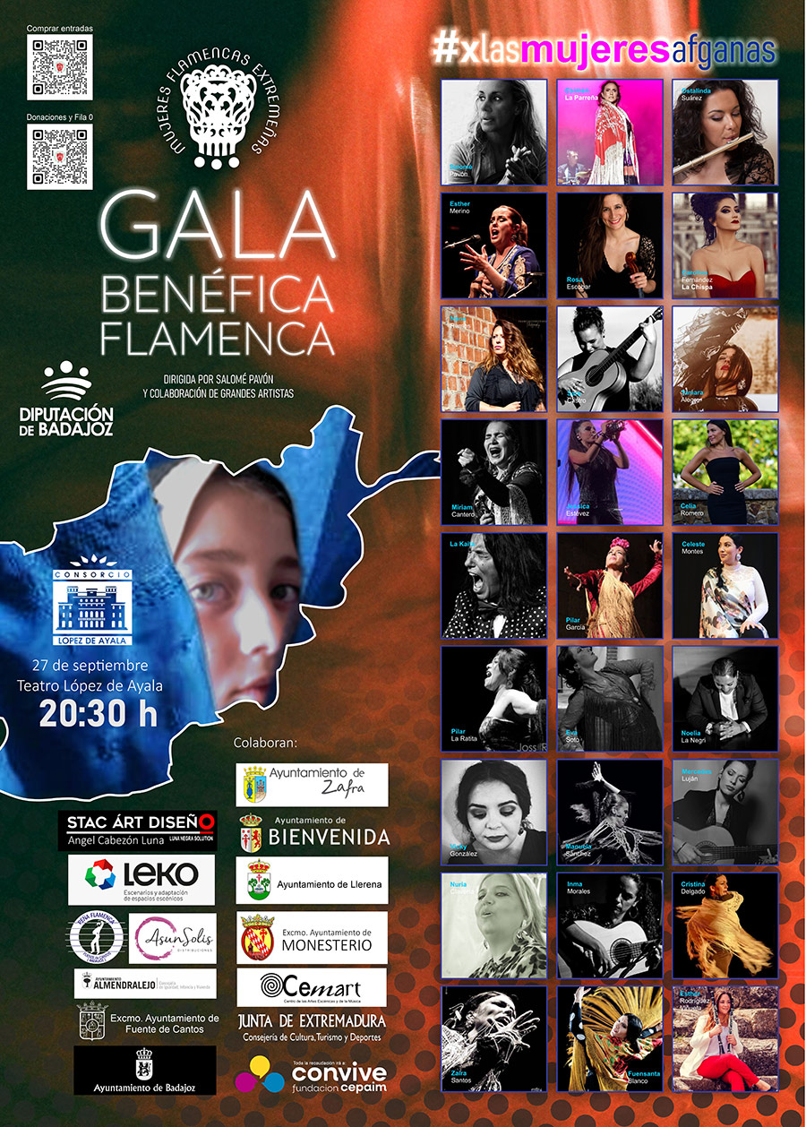 Gala benéfica flamenca x las mujeres afganas