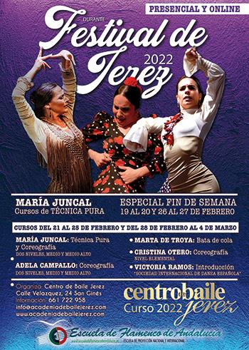 Cursos Festival de Jerez 2022 - Centro de Baile Jerez